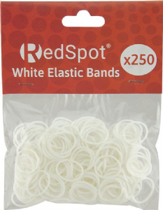 Clear Elastic Bands (250)